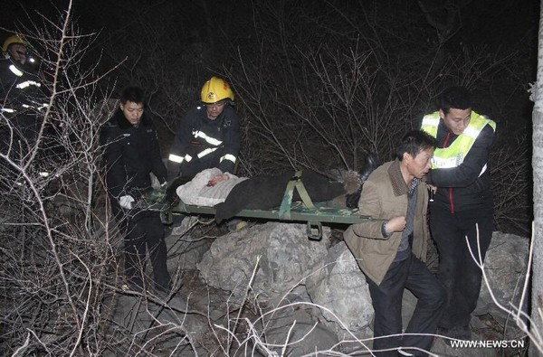20 dead after bus falls off cliff in C. China- China.org.cn