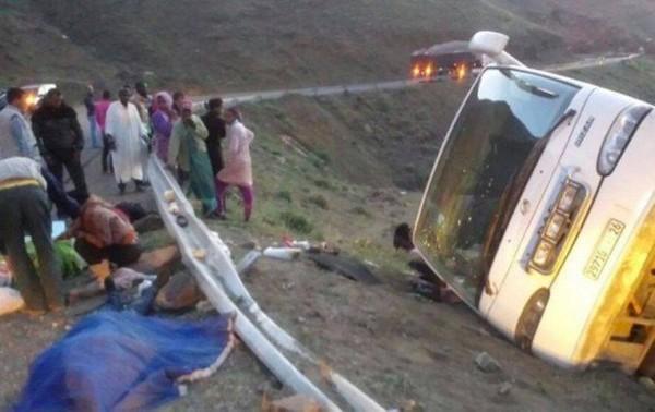 Ouarzazate : Sept morts et quatorze blessés dans un accident | Aujourd'hui le Maroc