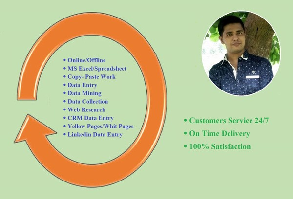 Do 200 excel rows Data Entry - PeoplePerHour