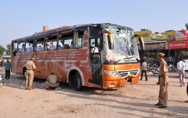 Inde : accident d'un car de touristes français