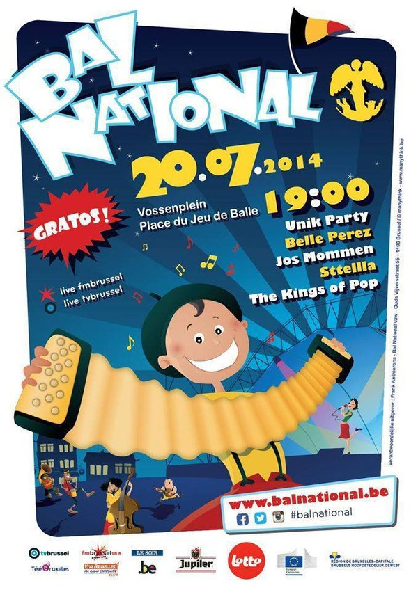 Allons, ce 20 juillet 2014 zwanzer au Bal National avec un programmation chaleureuse - Last night in Orient