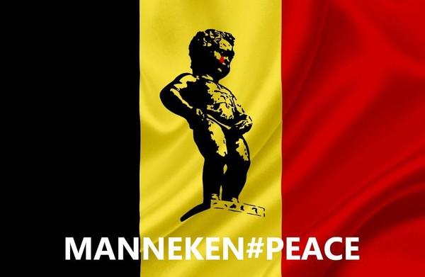 Les Belges s'arment d'humour et de sandwichs «mitraillette» contre le terrorisme (PHOTOS)