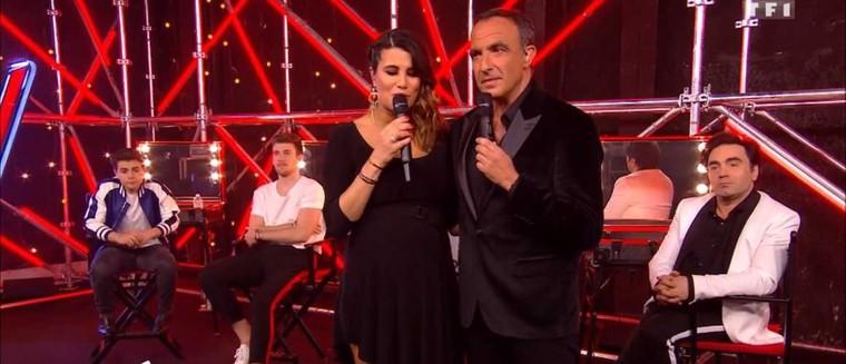 The Voice 7 : Karine Ferri et Nikos ont rendu un émouvant hommage à Grégory Lemarchal lors de la demi-finale