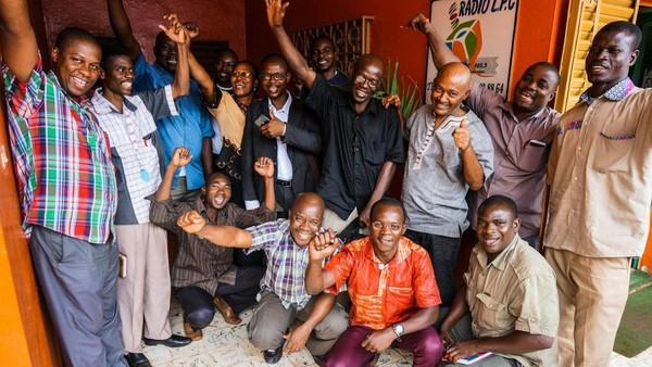 Plus de 320 radios partenaires sur le continent africain