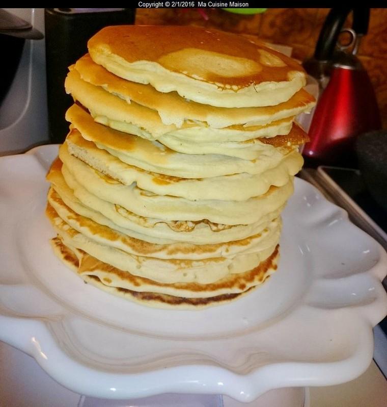 PAN-CAKES (Recette maison) - Ma Cuisine Maison