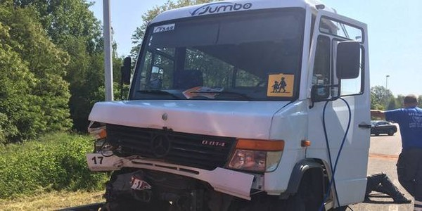 Accident de bus à Hensies: 15 blessés