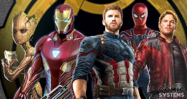 Avengers Infinity War: Un nouvel artwork des personnages principaux - Avengers: Infinity War (actualité)