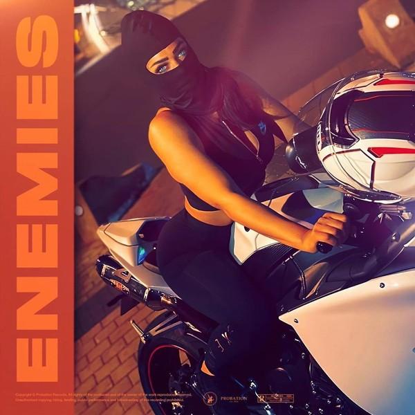 "EDEN on Instagram: ""«ENEMIES» Coming Soon... ⏳ s/o @officialsleiman X @bambinaofficiel 🔥🔥🔥 #Enemies #Music #entertainment #SALMUSIC #rapmusic #rapmonster…"""