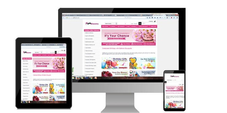 Giftblooms Online Gift Store launches New Redesigned Secure HTTPS website to their Buyers- – satPRnews