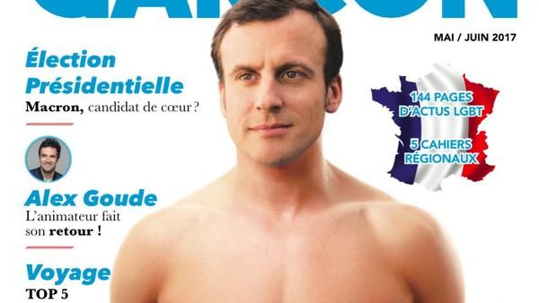 Macron torse nu en couverture : Garçon Magazine ne craint pas de relancer les rumeurs