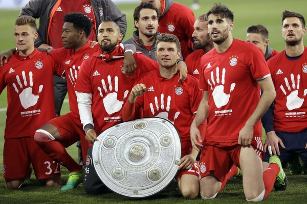 Bayern Munchen Cetak Sejarah Juara Bundes Liga Lima Kali Beruntun