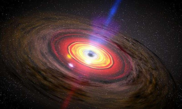 Black hole is 30 times expected size