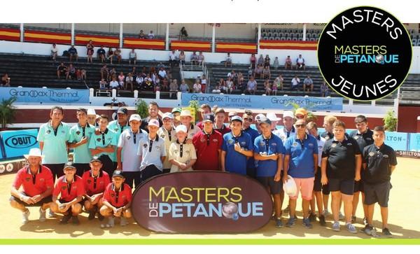 Masters de Pétanque jeunes du 12 juillet au 29 Août.