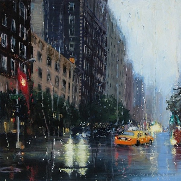 Highly one-of-a-kind paintings of rainy day - NICE PLACE TO VISIT