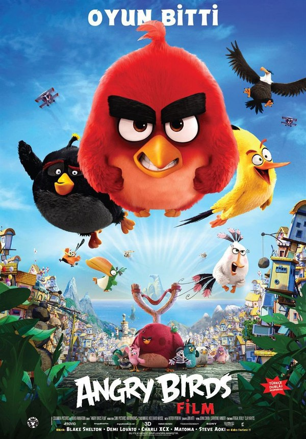 Angry Birds, le film en streaming.