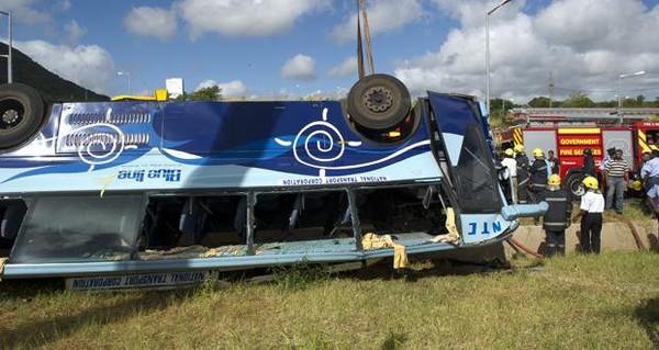 Accident de Sorèze: fuite d'air dans le système de freinage quatre jours avant le drame | lexpress.mu