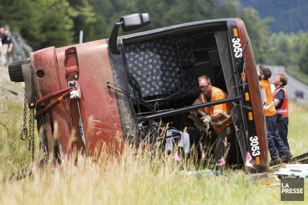 Accident d'autocar: une erreur humaine, selon des passagers | Jasmin Lavoie | Faits divers