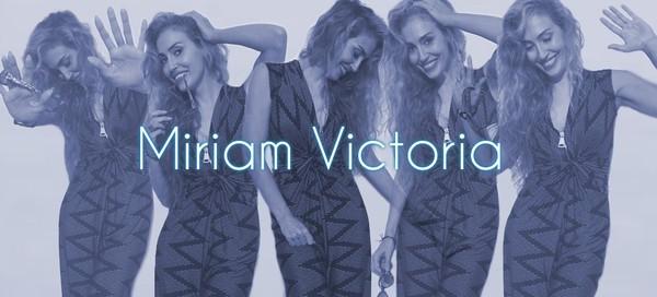 Miriam Victoria | Directora de Cine, Imagen y Experta en Moda