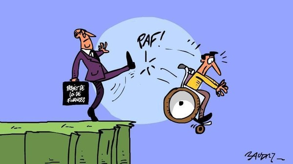 Économies sur le dos des personnes handicapées : Stop à l'indécence !