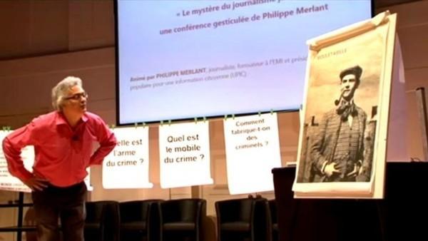 « Le Mystère du journalisme jaune » par Philippe Merlant