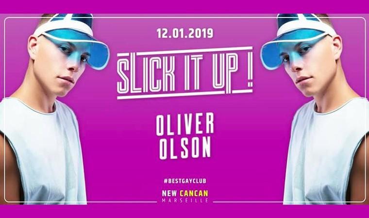 Oliver Olson au New Cancan - Gay-Marseille