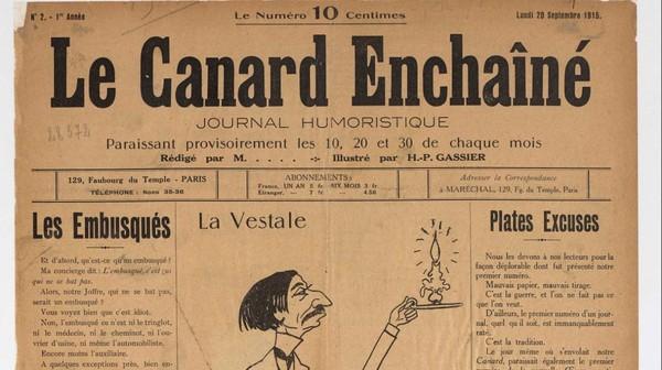 11 novembre 1918 : comment la censure et la propagande ont fait sortir le Canard Enchaîné des tranchées
