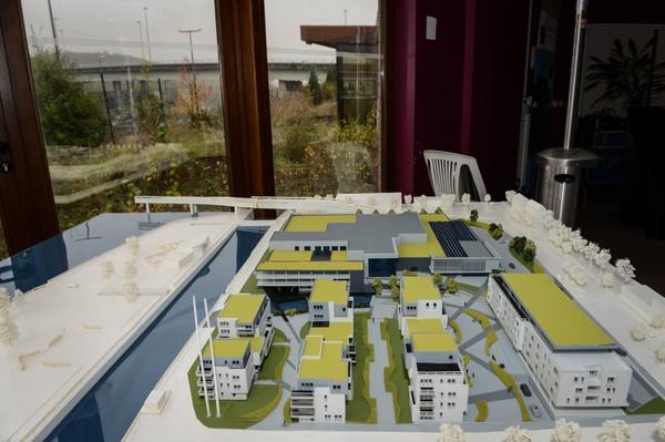 Jambes: un nouveau quartier se crée en bord de Meuse (Sondage)