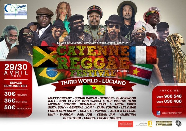 Third World @ Cayenne Reggae Festival