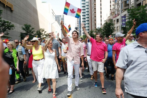 Trudeau makes history in Toronto Pride parade | Toronto Star