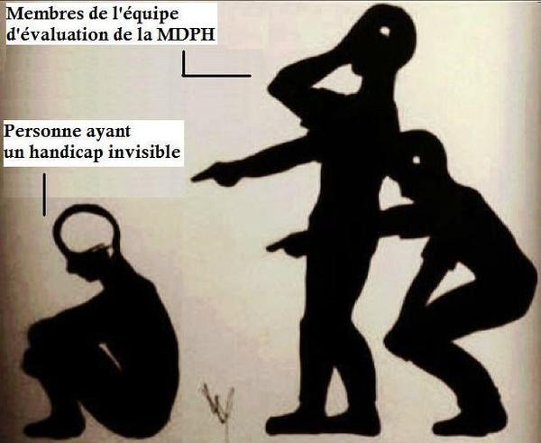 Handicap invisible et dignité, la leçon de l'équipe d'évaluation de la MDPH