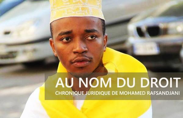Chronique / Au nom du Droit: La Cour suprême ou l'éloge du zéro | La Gazette Des Comores