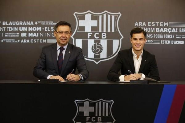 Barcelona Akhirnya Resmikan Pembelian Coutinho Dari Liverpool