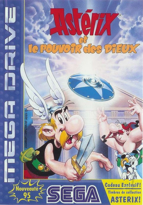 [RT] Asterix and the Power of The Gods - 1995 - MegaDrive