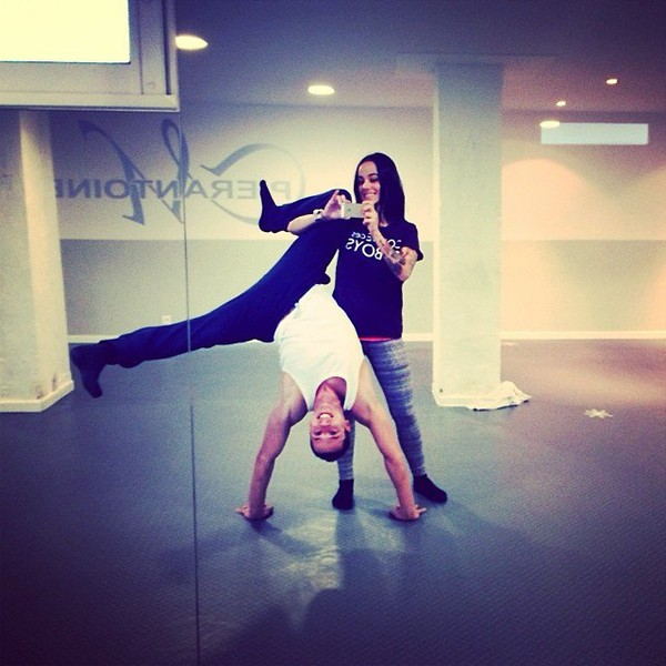 .@alizeeofficiel | Eh ben nous on repete pour la tournée de #dals ! @gregoirelyonnet | Webstagram