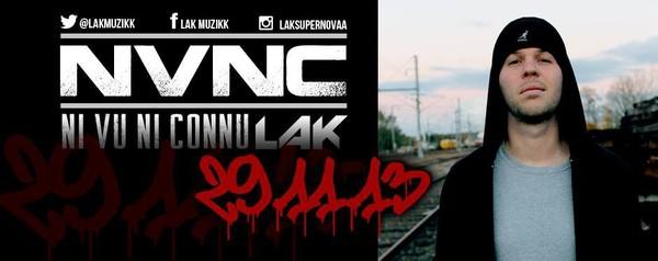 """★ LAK ★ Sortie de la Digitape """"NVNC"""" le 29.11.2013"""