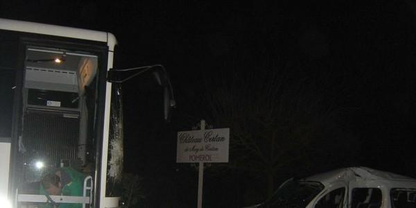 Accident de bus à Pomerol : les conducteurs n'avaient pas bu - SudOuest.fr