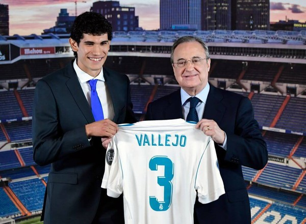 Vallejo Menggantikan Posisi Pepe Dan Berjanji Kepada Madrid