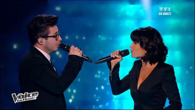 The Voice 2 : la plus belle voix - Olympe et Jenifer interprètent en direct « I will always love you » (Whitney Houston)