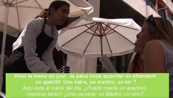 Aprende francés para comer en un restaurante