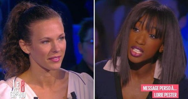 Le message perso d'Hapsatou Sy à Lorie Pester - Le Grand 8 - 18/01/2016
