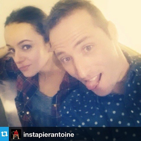 .@alizeeofficiel | #Repost from @instapierantoine reveillon ️ | Webstagram