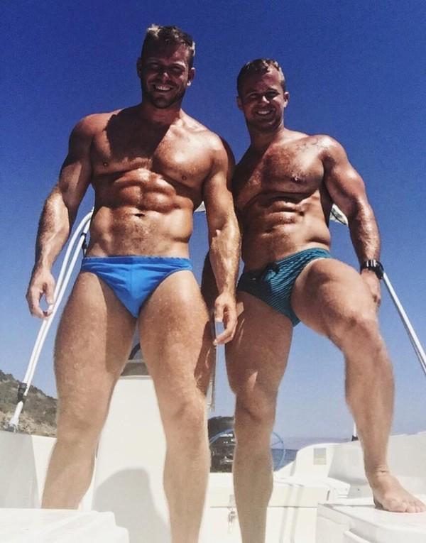Kevin McDaid et Ed Harbourne