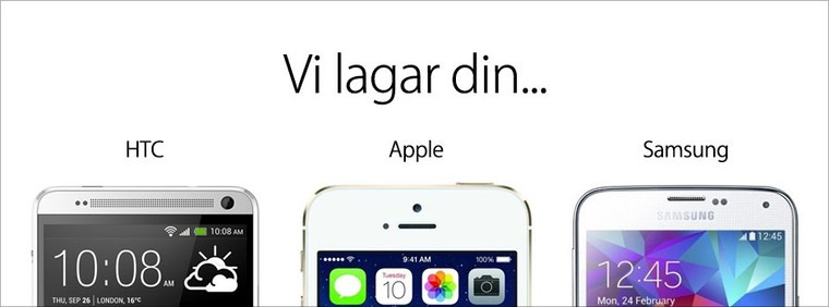 Laga iPhone reparera iPad reparation Göteborg