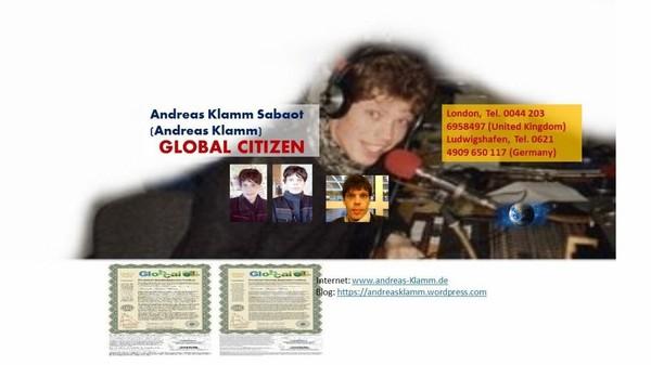 Andreas Klamm Sabaot | Alternative from London, ENG, UK