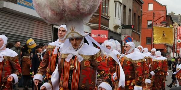 Charleroi: plus de 500 participants ont défilé dans le cortège du carnaval