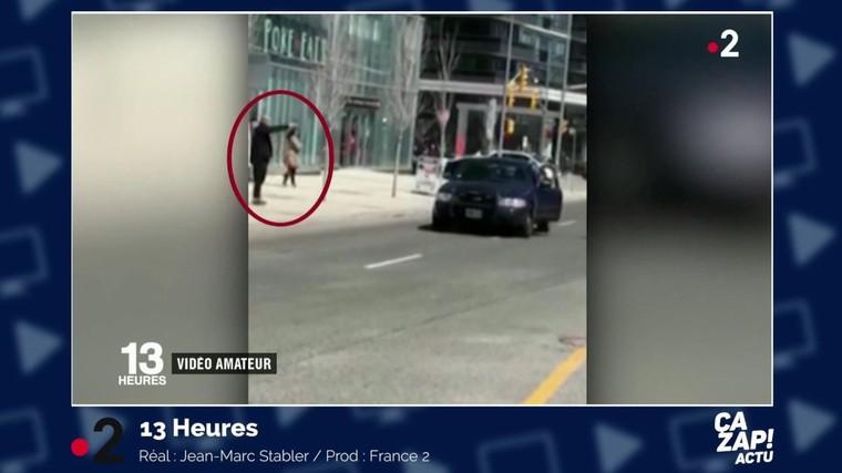 Attaque au véhicule-bélier à Toronto : les images de l'arrestation de l'auteur présumé