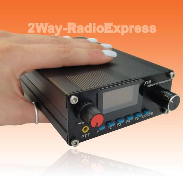 X1M PRO Upgraded Version QRP HF Tranceiver, 5 Watts SSB-CW, 1.8-30 MHz Full TX!