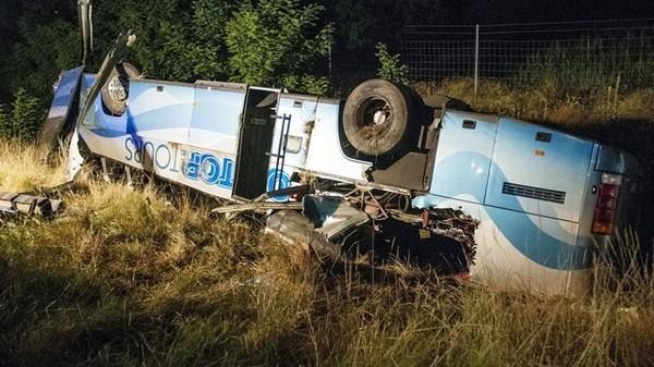 Un accident de car suisse fait 15 blessés en Hongrie
