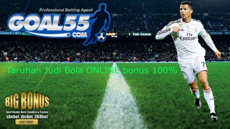 Situs Taruhan Bola Bonus 100%