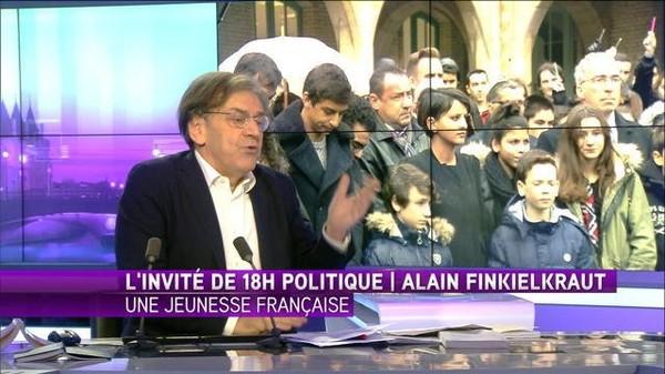 """Finkielkraut : """"La liberté d'expression blesse les Hommes, il faut s'y adapter"""""""
